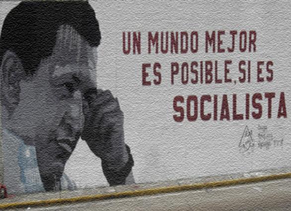 Rumores Cercanos al 10/E. 20080924_mural-venezuela-socialista11