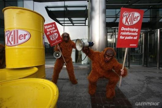 Forest Action against Nestle UK
